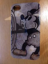 DISNEY MICKEY MOUSE STEAMBOAT WILLIE VINTAGE RETRO CASE COVER IPHONE 4/4s