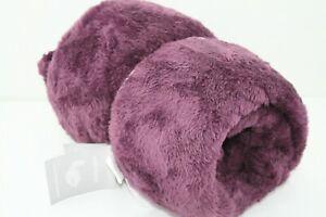 Swift Home Super Soft Oversized Plush Faux Fur Purple Throw Blanket 60 x 70 inch