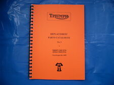 TRIUMPH 3TA,5TA PARTS BOOK FOR 1959  MODELS