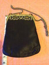 Vintage Silk Purse Handbag Looks Unused