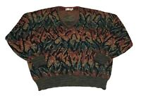 Vtg st croix knits sweater Mens L Coogi Style Biggie Smalls Usa Made Bill Cosby