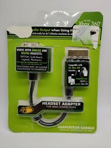 Mad Catz Headset Adapter For HDMI Connections Xbox 360