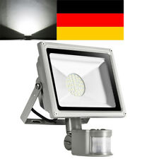 30W Kaltweiß SMD LED Fluter Flutlicht Strahler mit PIR Bewegungsmelder IP65