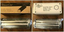 (2) The Pampered Chef Bread Tubes Scalloped #1565 & Flower #1550 Baking Pans Nib
