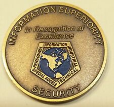 Department of Defense Information Superiority Security Challenge Coin