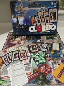 Harry Potter Cluedo Mystery Board Game EXCELLENT CONDITION COMPLETE