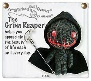 Kamibashi The Grim Reaper Original String Doll Gang Keychain Toy