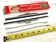NOS Vintage TRICO Wiper Blades & Arm Converters VW-102 NEW OLD STOCK Volkswagon