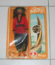 Bambola Doll SANDOKAN Furga 1976 Serie Tv Kabir Bedi La Tigre della Malesia