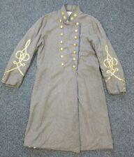 Civil War Reenactor Confederate States Officer Frock Coat Virginia Double-Breast