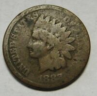 1882 Indian Head Cent in Lower Grade Circulated Condition    DUTCH AUCTION