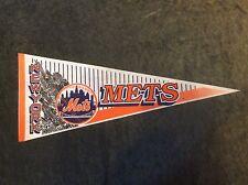"""1994 New York Mets Baseball  Pennant Banner Flag 30"""""""