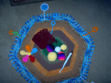 New listing Hand crochet baby play mat, w/ teething rings, balls & more, great gift item