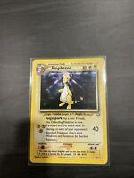 Ampharos - 1/111 Neo Genesis - Holo Rare Pokemon Card - NM