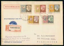 NETHERLANDS FDC 1953 COVER VOOR KET KIND COMBO