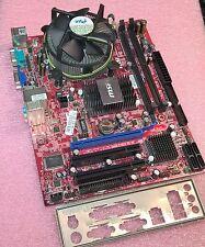 SCHEDA MADRE SOCKET 775 MSI G31TM-P21 + CPU INTEL DUAL CORE E5200 / 2,50GHz