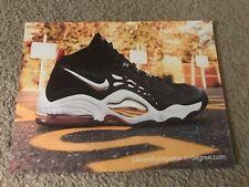 Vintage NIKE JUWAN HOWARD Basketball Shoes Poster Print Ad 1990s RARE