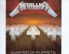 CD METALLICA	master of puppets	1989 EX+	  (A4765)