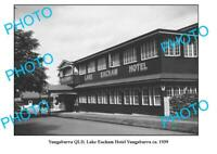 OLD 6x4 PHOTO YUNGABURRA QUEENSLAND LAKE EACHAM HOTEL c1939