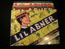 Li'l Abner Volume 1 3 4 6 7 Al Capp Softcover Reprint Kitchen Sink Lot of 5