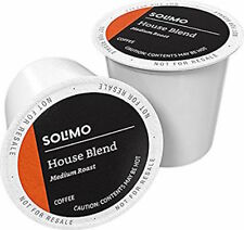 AMAZON BRAND 100 CT SOLIMO COFFEE PODS HOUSE BLEND COMPATIBLE W 2.0 KCUP BREWERS