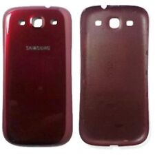 GENUINE Samsung Galaxy S3 S 3 III SCH-i747 BATTERY COVER RED phone i9300 i535