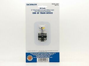 """33"""" Freight Truck w/ E-Z Mate Coupler and EOT Device HO - Bachmann #42907 vmf121"""