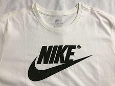 NIKE ropa deportiva Futura Ante Logo hombre camiseta XL Sail Marfil Negro