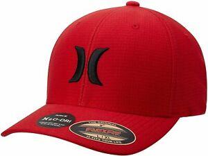 Hurley Men's H2O-DRI Pismo Perforated Mesh Flex Fit Hat Cap
