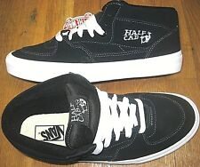 Vans Mens Half Cab Navy Blue White Suede Skate Shoes Size 13 VN000DZ3NVY NWT