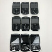 Blackberry Curve Lot of 9 Untested For Parts