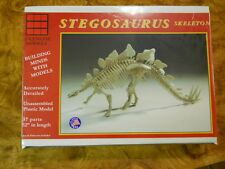 GLENCOE STEGOSAURUS SKELETON PLASTIC MODEL KIT (NEW IN BOX)