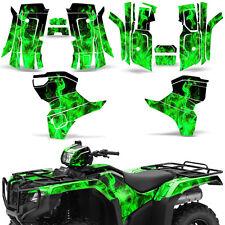 Graphic Kit Honda Foreman 500 ATV Quad Decals Stickers Wrap 2015 2016 ICE GREEN