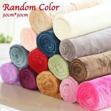 Soft Warm Plush Fleece Blanket Random Color Flannel Blanket Throw Rug Decor BD