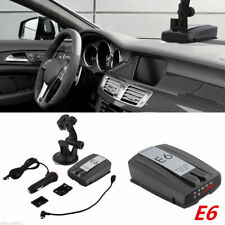 E6 Cobra Full Band Car Radar Detectors Laser Speed Alert With English Police Dog