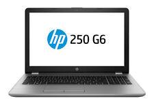 """HP 250 G6 15.6"""" (256GB, Intel Core i7 7th Gen., 2.70GHz, 8GB) Laptop - Silver - 1WY37EAABU"""