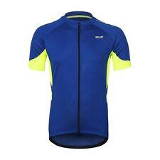 Herren Full Reißverschluss Radfahren Jersey Fahrrad Shirt kurze Ärmel Fahrrad