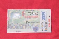 biglietto Calcio Stadio - TORINO ALZANO VIRESCIT COPPA ITALIA 1998