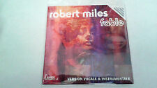 "ROBERT ""MILES FABLE"" CD SINGLE 2 TRACKS CD TRANSPARENT"