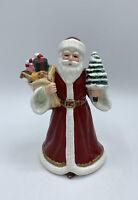 Vintage Geo. Z. Lefton Handpainted China Santa Claus Father Christmas Figurine