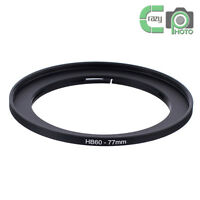 HASSELBLAD B60-77mm HB Bayonet 60 to 77mm Screw Lens Filter Thread Adapter Ring