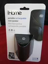 iHome Portable Rechargeable Mini-Speaker - Black