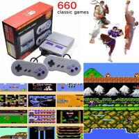 SNES Classic 660+ Games Super Handheld Game Mini TV 8 Bit Nintendo Console US
