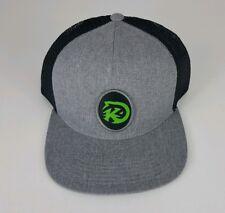 Kast Extreme Fishing Gear MX Patch Trucker Hat Gray Black Mesh Snapback