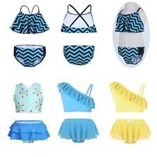 Toddlers Kids Swimwear Swimsuits Baby Girls Bikini Bathing Suits Beachwear 2PCS