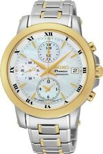 Seiko SNDV70 SNDV70P1 Premier Ladies Chronograph Watch WR100m RRP $750.00