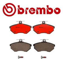 For Audi 80 Quattro VW Passat Front Disc Brake Pads Ceramic Slotted Bolts Brembo