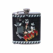 KISS The Demon Hip Flasque - Cadeau Emballé Nemesis Now