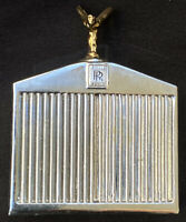 Vintage Rolls Royce Radiator,Grill Striker Lighter, Permanent Match