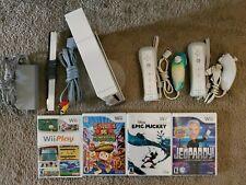 Nintendo Wii Console Bundle - Wii Sports, 7 games 2 Wiimote w. Nunchuk RVL-001